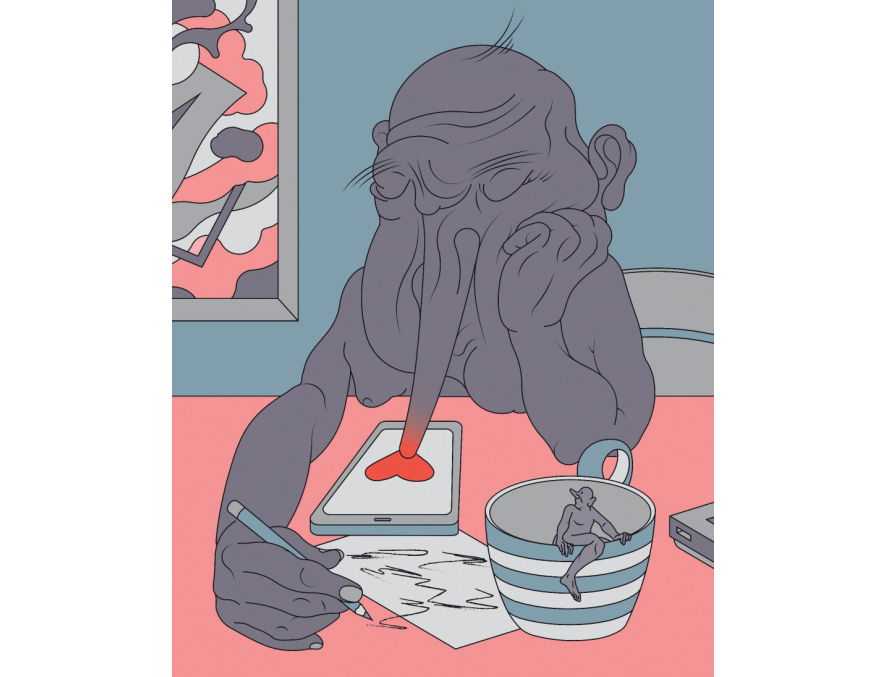 Sleep Away Digital Print A3